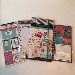 NWT Happy Planner Stickers and Accessories Bundle